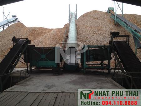 Máy băm gỗ 25 tấn/h SS-25DC