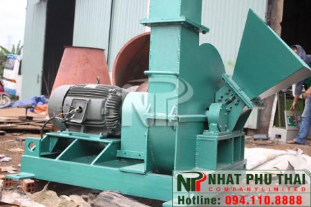 Máy băm gỗ 1 tấn/h SS-01DC