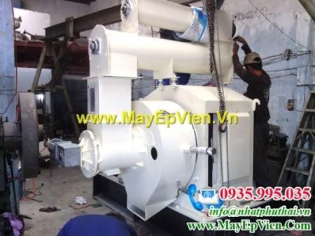 Máy ép viên mùn cưa 1,5 – 2 tấn/h NPT-MEV-0152TVN – Việt Nam