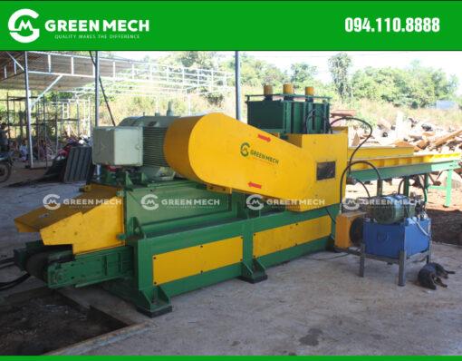 Chuyển giao máy nghiền gỗ mùn cưa GM-400SM