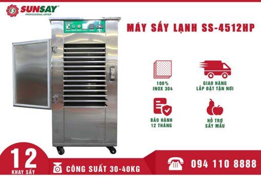 Máy sấy lạnh 12 khay mini
