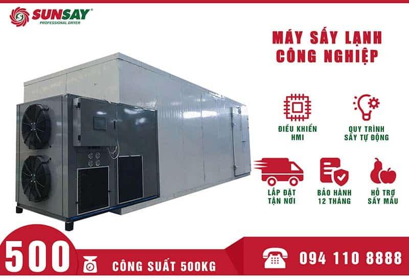 Máy sấy lạnh công nghiệp 500 kg