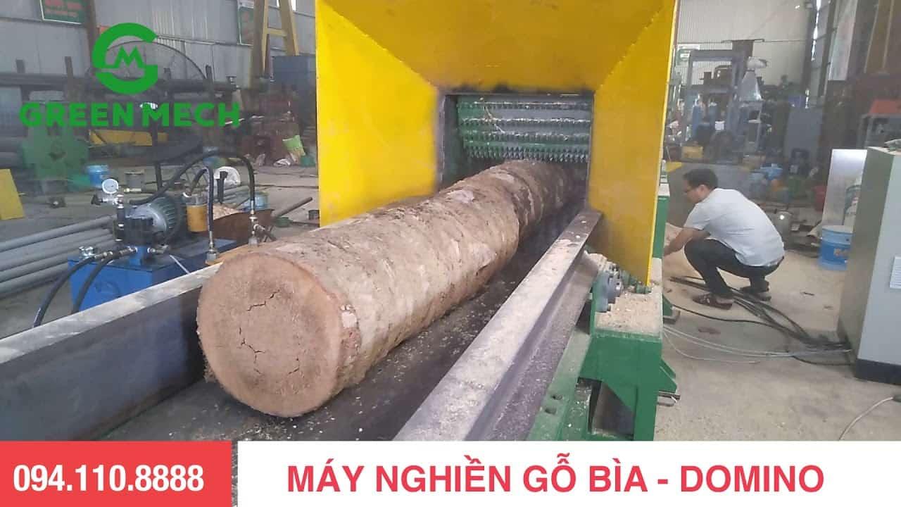 Máy nghiền gỗ thành mùn cưa công nghệ mới