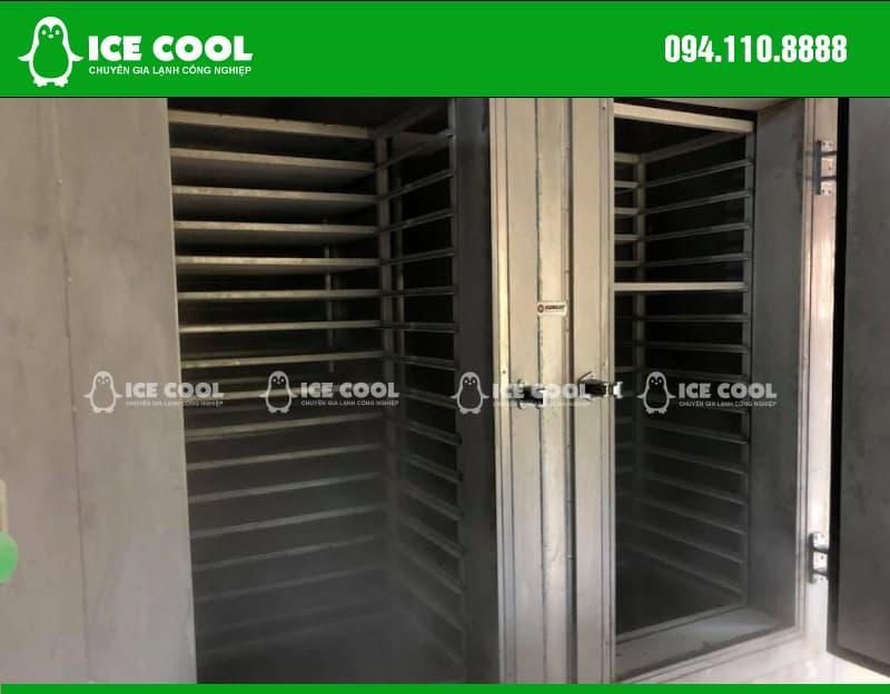 Làm lạnh nhanh an toàn với máy cấp đông nhanh ICE COOL