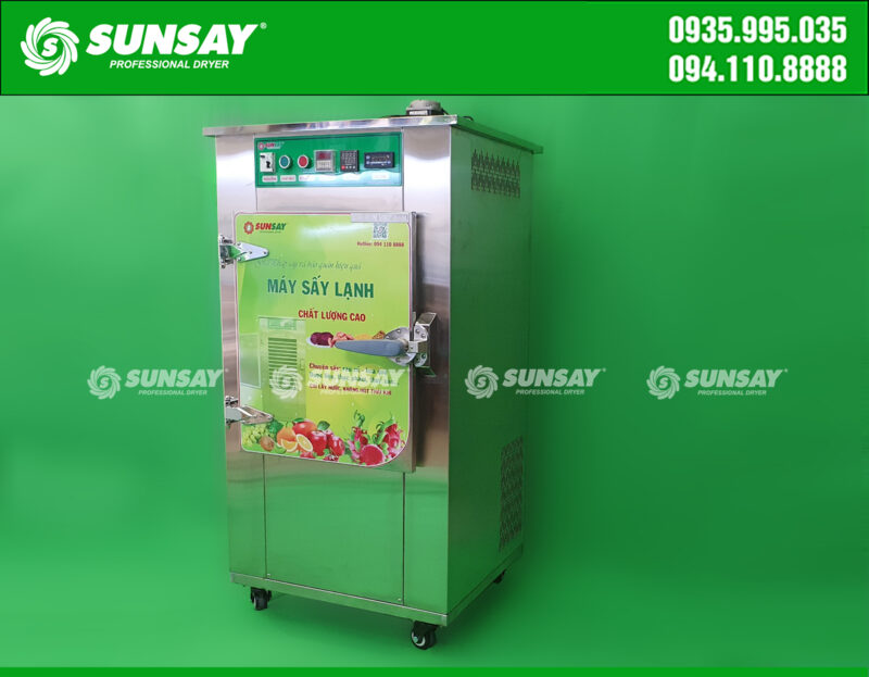 Máy sấy lạnh mini 9 khay chuyên sấy thực phẩm