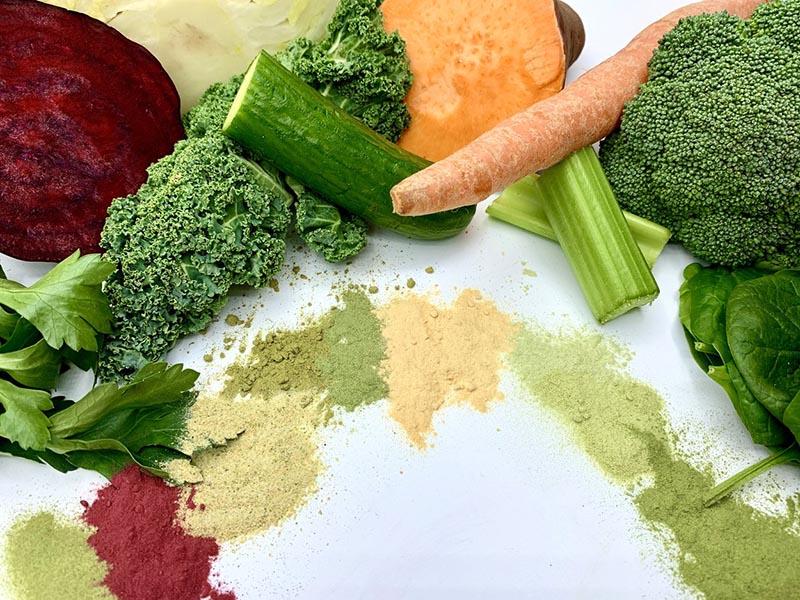 Điều gì tạo nên bột rau củ quả sấy lạnh chất lượng?
