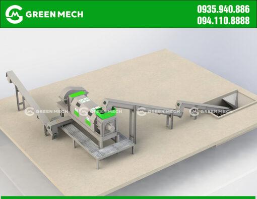 Máy ép nước công nghiệp GREEN MECH